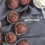 Coconut Flour Apple Carrot Muffins