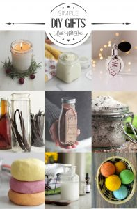 Simple DIY Gift Ideas