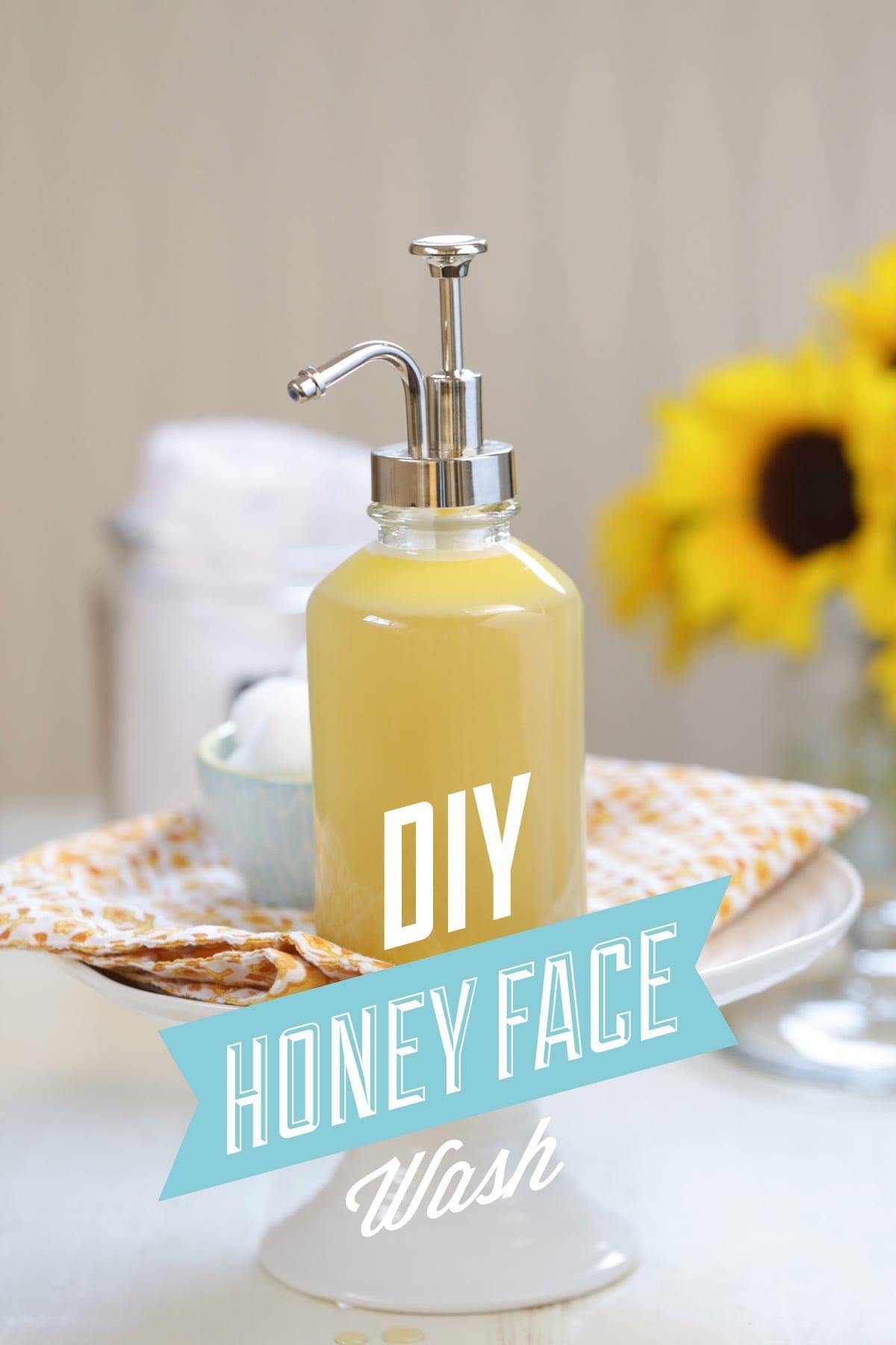 Diy Homemade Honey Face Wash Live Simply