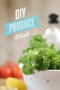 DIY Produce Wash