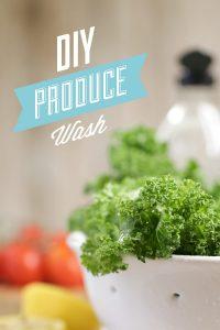 DIY Produce Wash