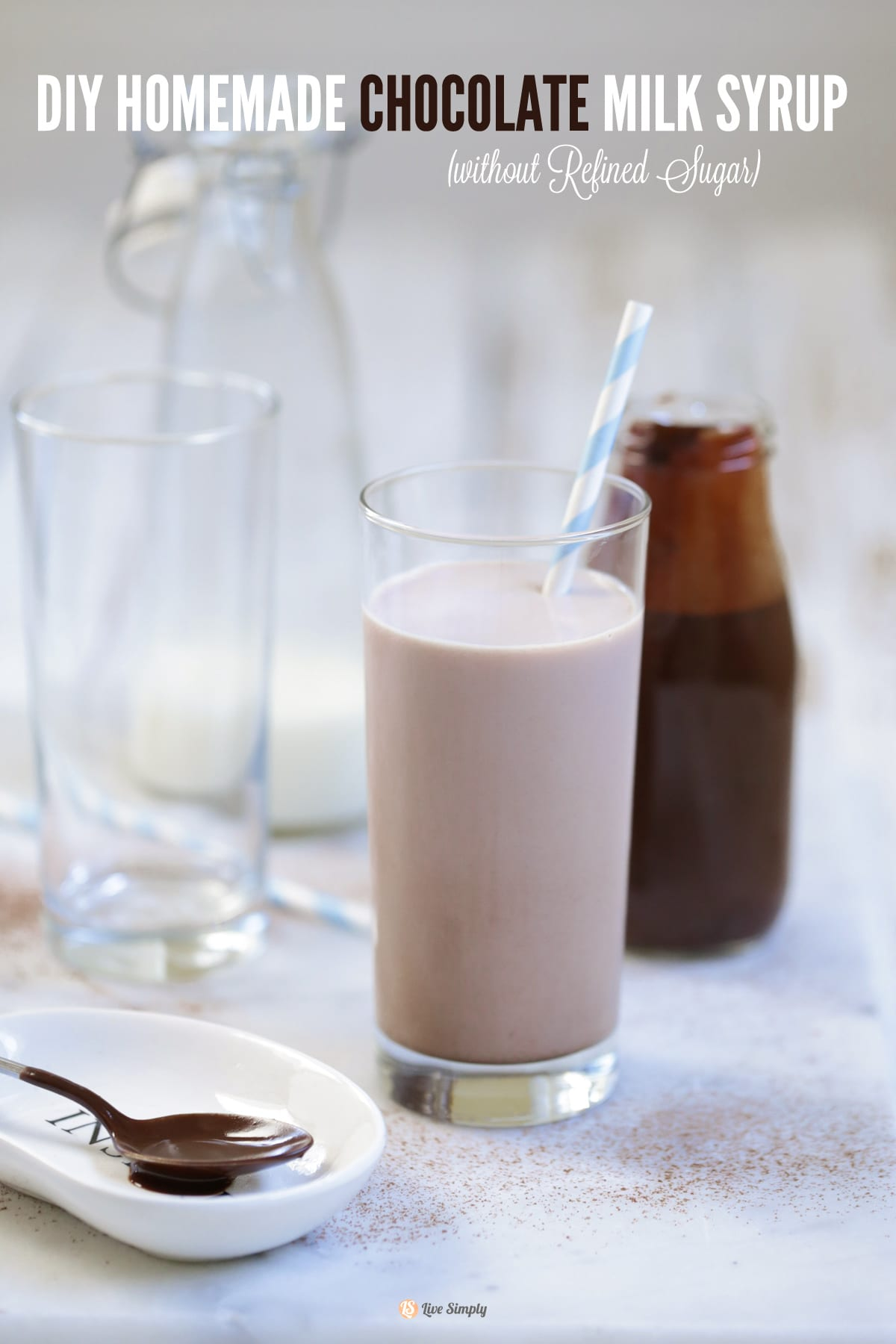 DIY Homemade Chocolate Milk Syrup (without refined sugar) - Live ...