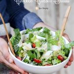 Homemade Probiotic Chicken Caesar Salad Dressing Reicpe