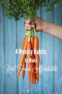 make real food affordable