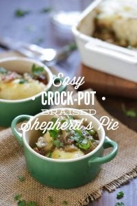 Easy Crock-Pot Braised Shepherd's Pie
