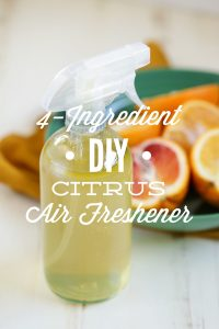 DIY Citrus Air Freshener: A simple 4-ingredient air freshener you can make at home!