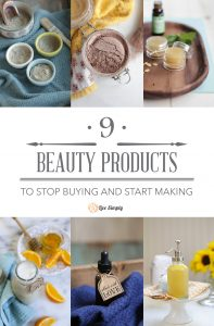 9 Beauty Products to Stop Buying and Start Making
