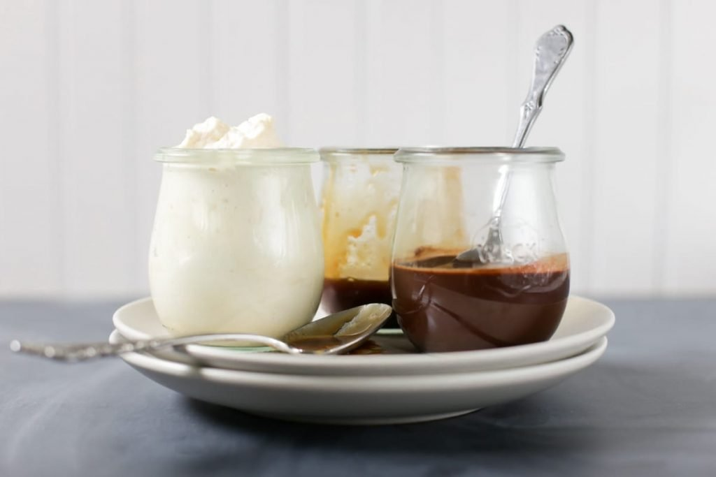 A DIY Frappuccino-like recipe made with real food ingredients. This homemade DIY drink is even better than the original and it all comes together in 60 seconds.