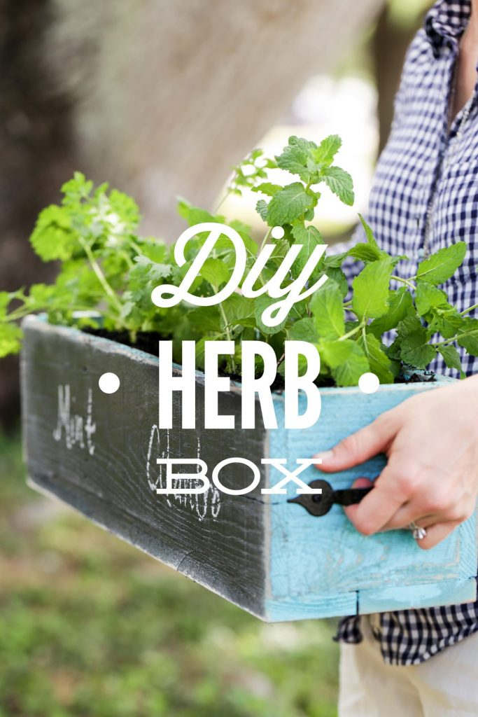 Diy Herb Box Live Simply