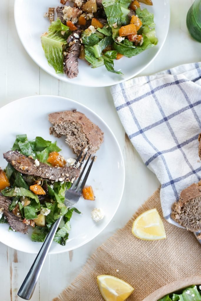 Warm Vegetable and Steak Salad: A healthy summer salad for the  carnivore and salad lover