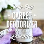 Carpet Deodorizer with Lavender