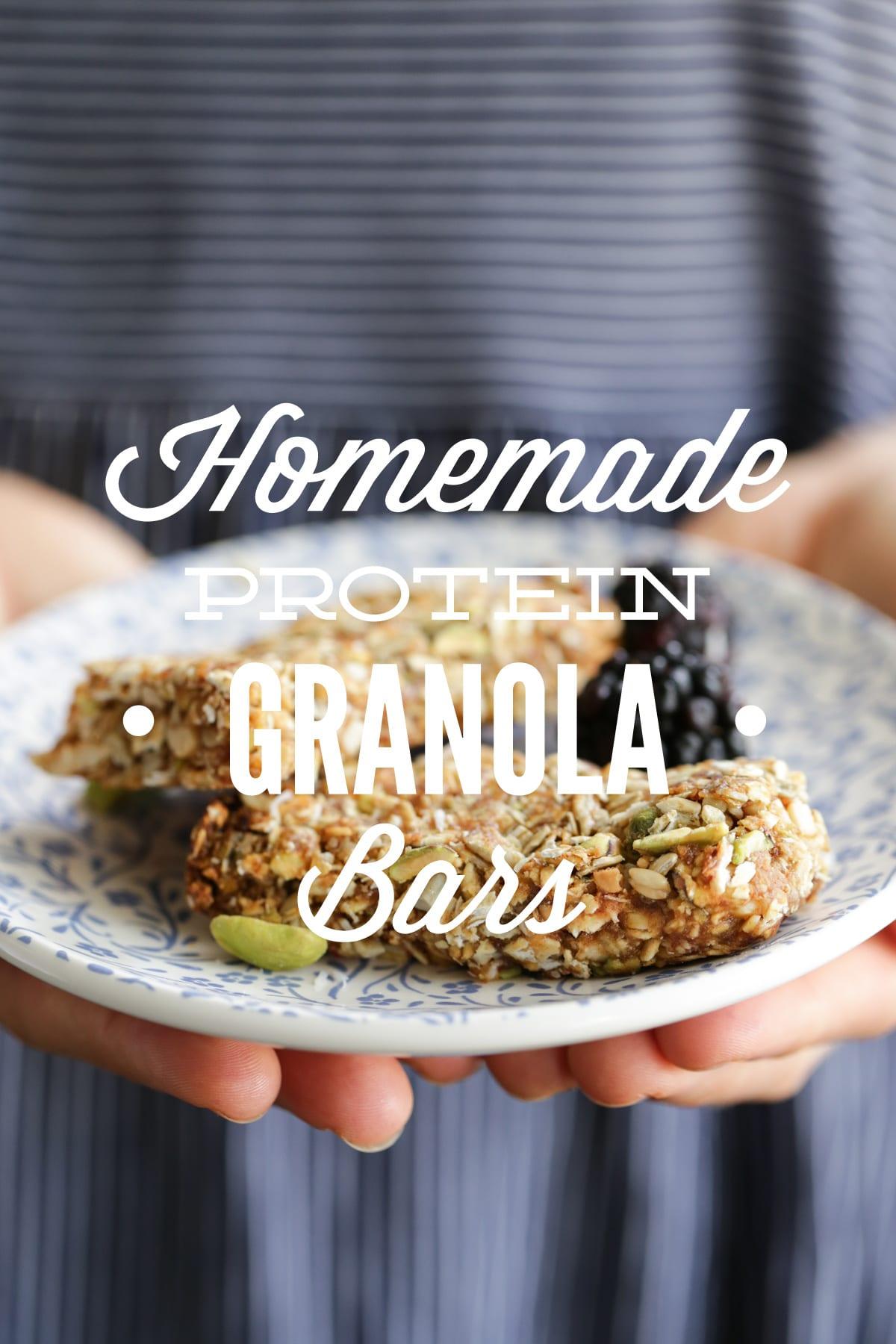Homemade protein granola bars live simply solutioingenieria Choice Image