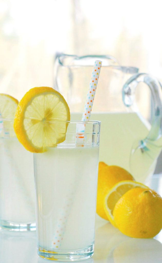 Honey Sweetened Lemonade. Only 3 ingredients and naturally-sweetened with honey! This homemade lemonade is so easy to make.
