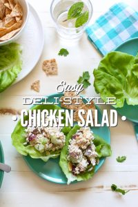 Easy Deli-Style Chicken Salad
