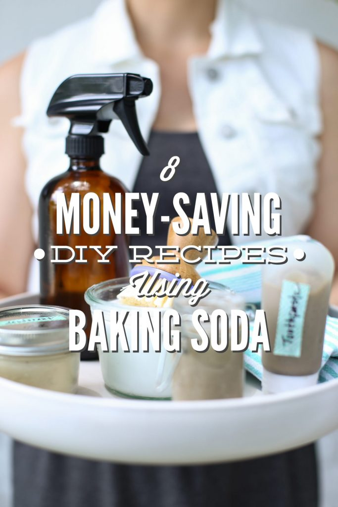 Money saving baking soda DIY recipes. Baking soda costs just pennies per ounce and can be found in nearly every home.