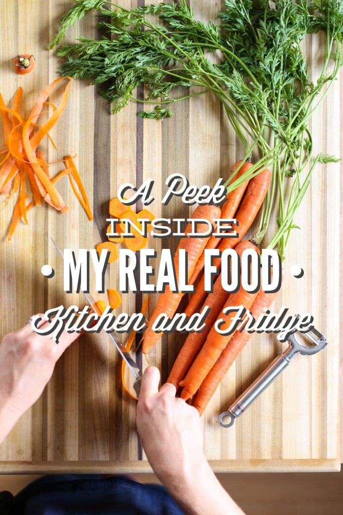 A Peek Inside My Real Food Kitchen