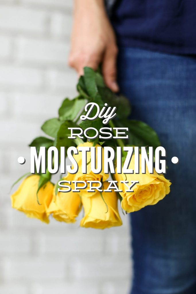 Tone, freshen, and deodorize your skin with this 3 ingredient rose moisturizing spray! Only three natural ingredients and 30 seconds. Good for all skin-types.