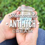 Homemade anti-itch cream