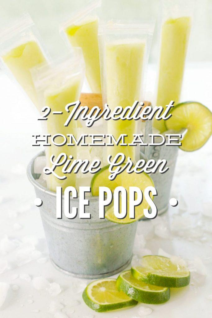 Green Ice Pops, Yes Green Recipe — Dishmaps