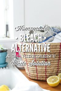 Homemade bleach alternative: natural whitening solution
