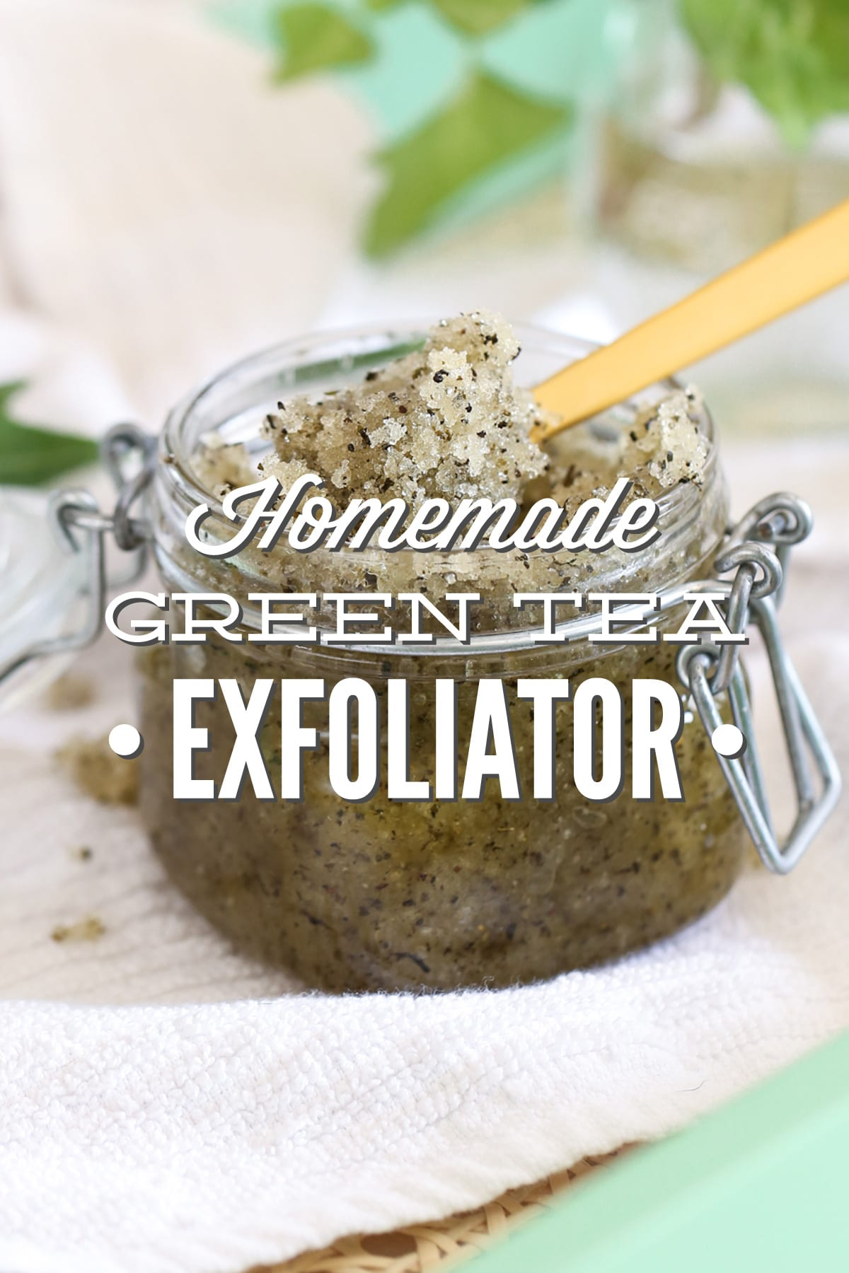 Diy Homemade Green Tea Exfoliator Live Simply