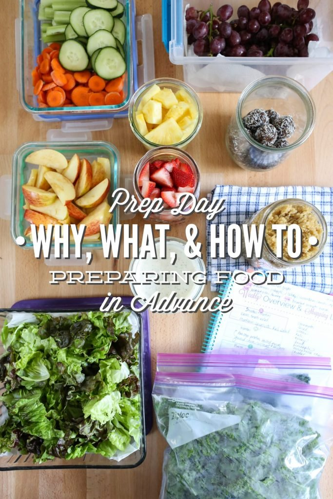 Prep Day 101: The why, what, and how to. A super practical guide to making food in advance without the stress or frustration of spending hours in the kitchen. Healthy and easy ideas! No processed food or packages. PLUS, A FREE PRINTABLE!