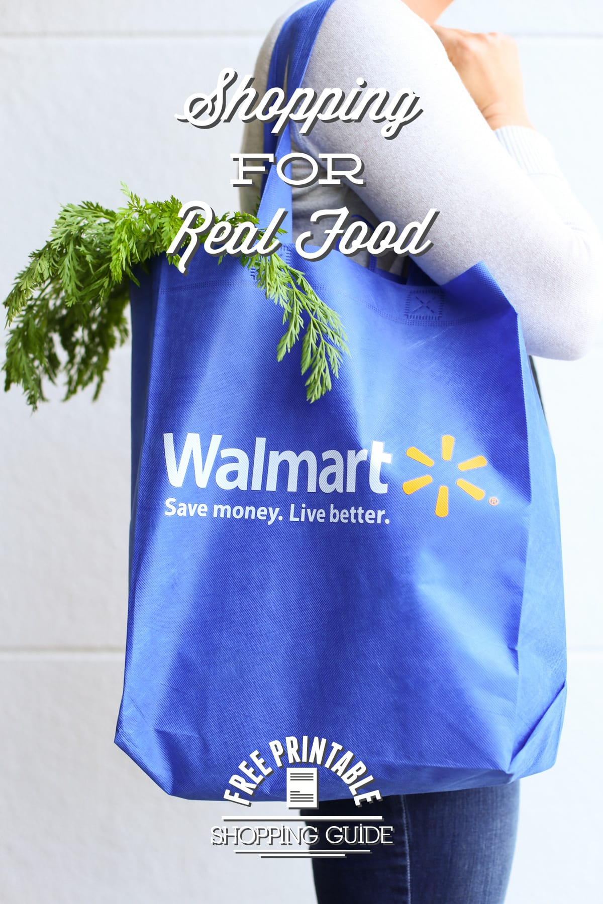 Shopping For Real Food At Walmart You Might Be Surprised What Youll