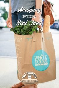 Shopping for Real Food at Whole Foods