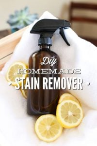 DIY Homemade Stain Remover Spray