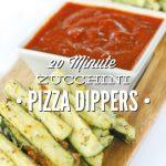 Zucchini Pizza Dippers