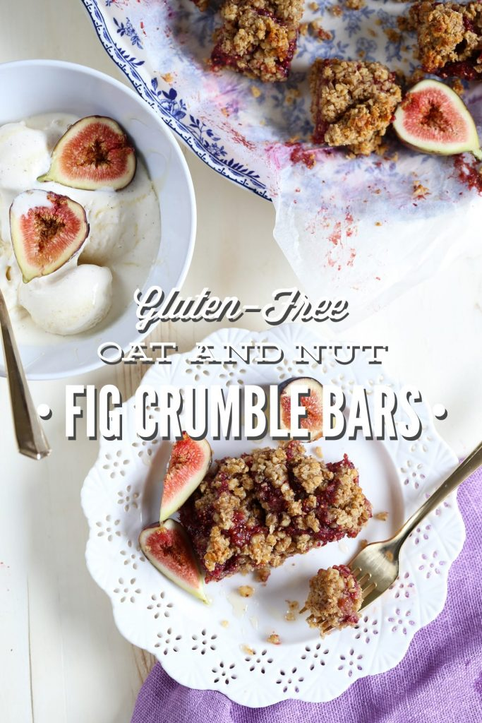 Serve these Oat and Nut Fig Bars for breakfast, as a snack, or warm with a side of homemade vanilla ice cream
