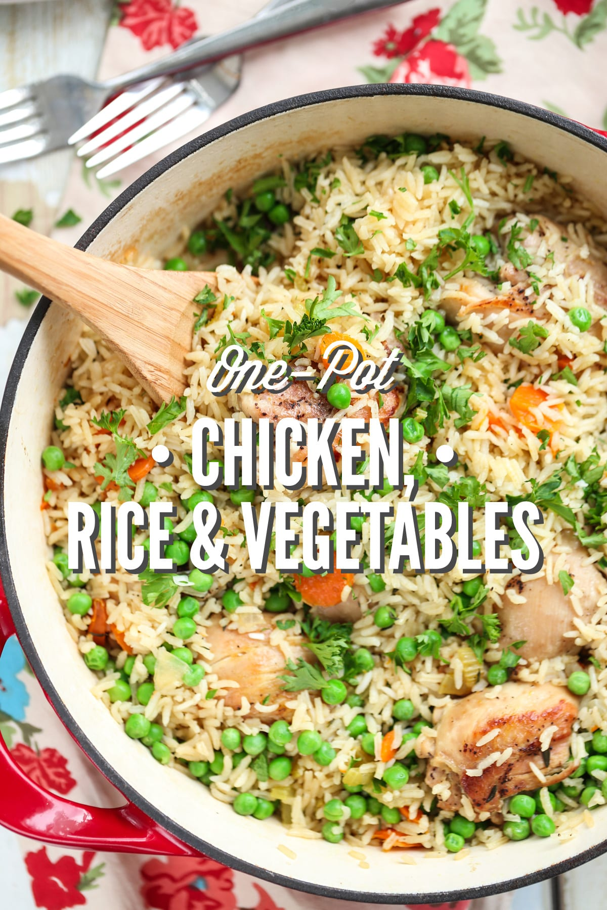 One Pot Chicken Rice And Vegetables Live Simply