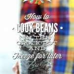 How to cook beans in the crock-pot