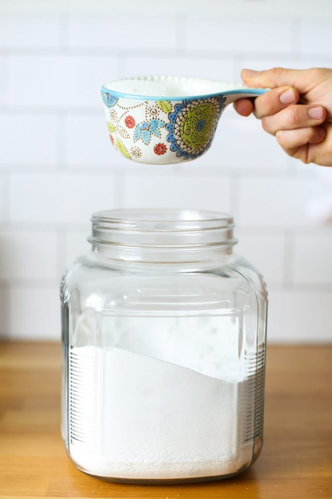 Homemade OxiClean Laundry Booster. Ditch the Oxi-Clean and get those whites white with