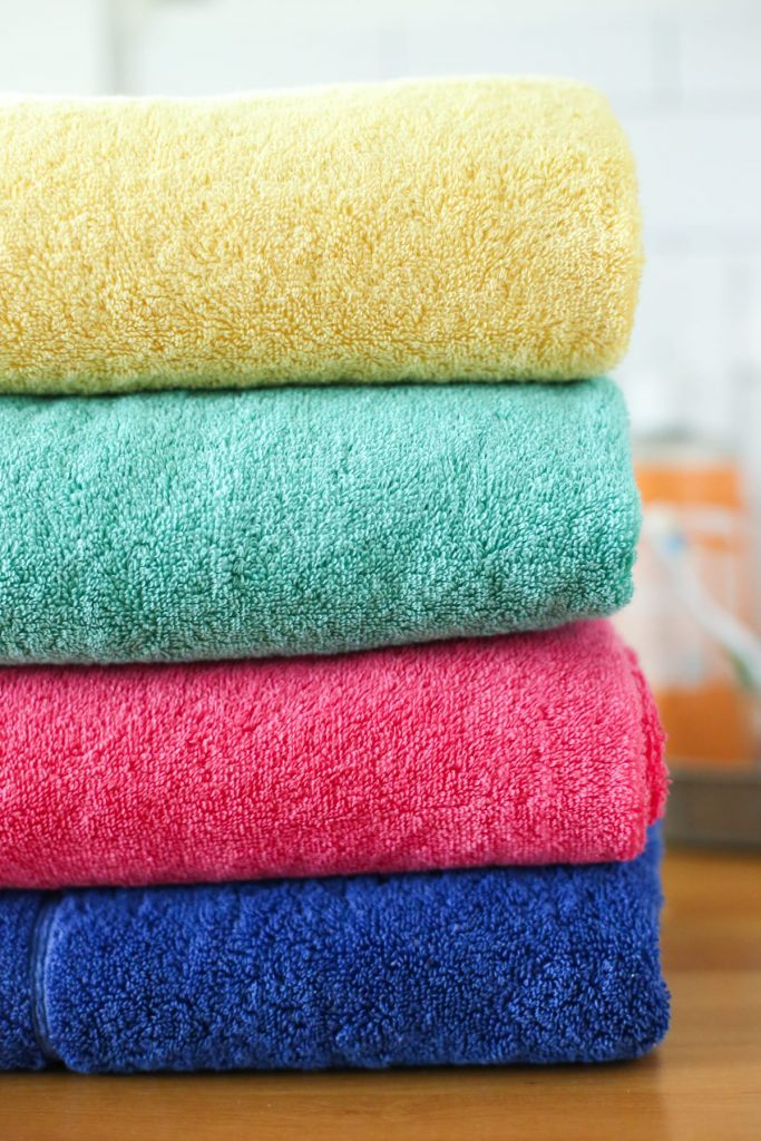 One Simple Trick to Simplify Laundry and the Bathroom. You'll never believe how easy this laundry trick is! I have so much free time now.