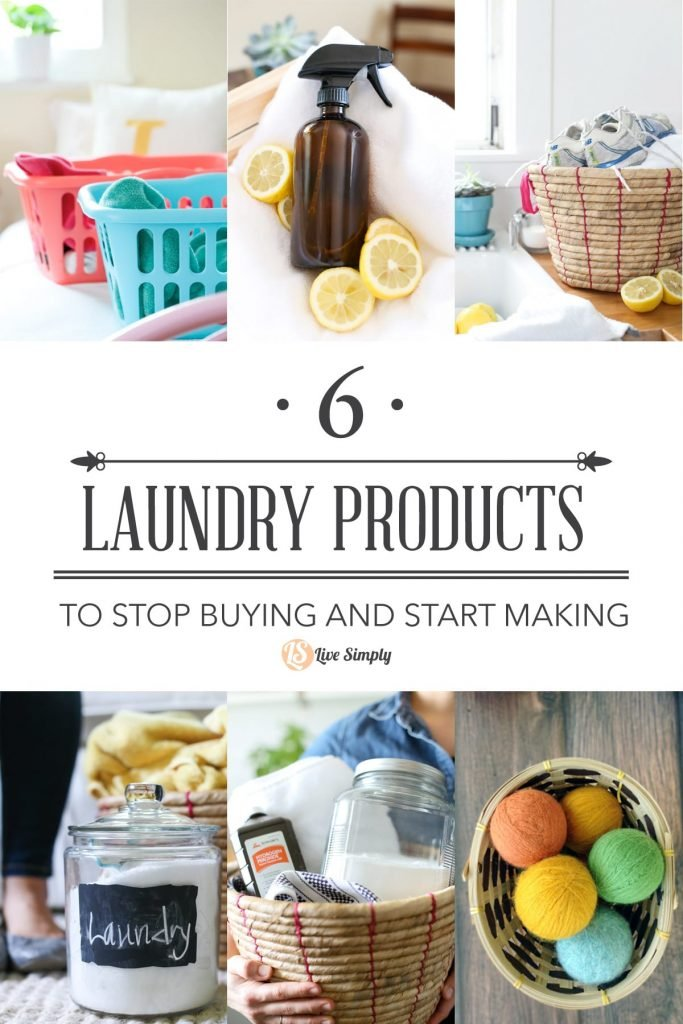 6 Laundry Products to Stop Buying and Start Making