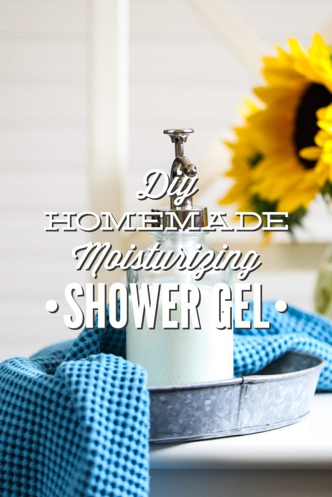 Finally A Homemade Shower Gel That Is Thick And Creamy So Luxurious You