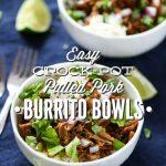 Easy Crock-Pot Burrito Bowls