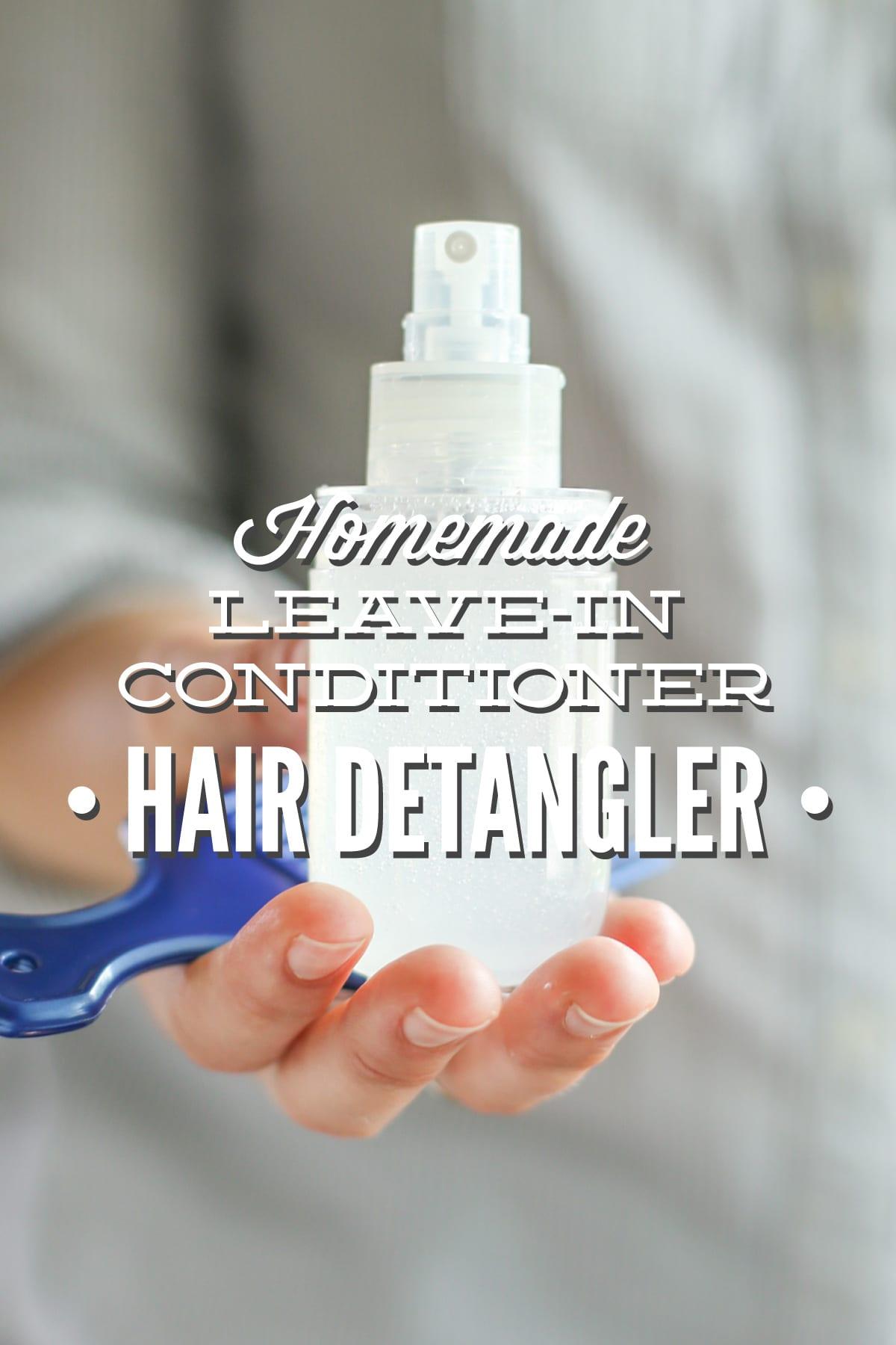 Homemade Leave In Conditioner Hair Detangler Live Simply Gieve Eucalyptus