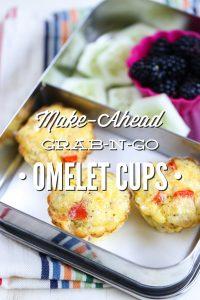 Make-Ahead Grab-n-Go Omelet Cups