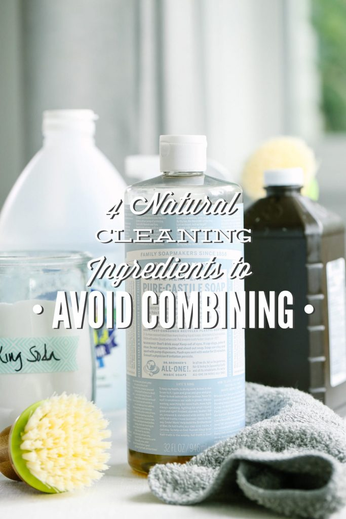 Natural Ingredients to Avoid Combining: Why You Need to Avoid Castile Soap, Vinegar,. While homemade cleaning ...