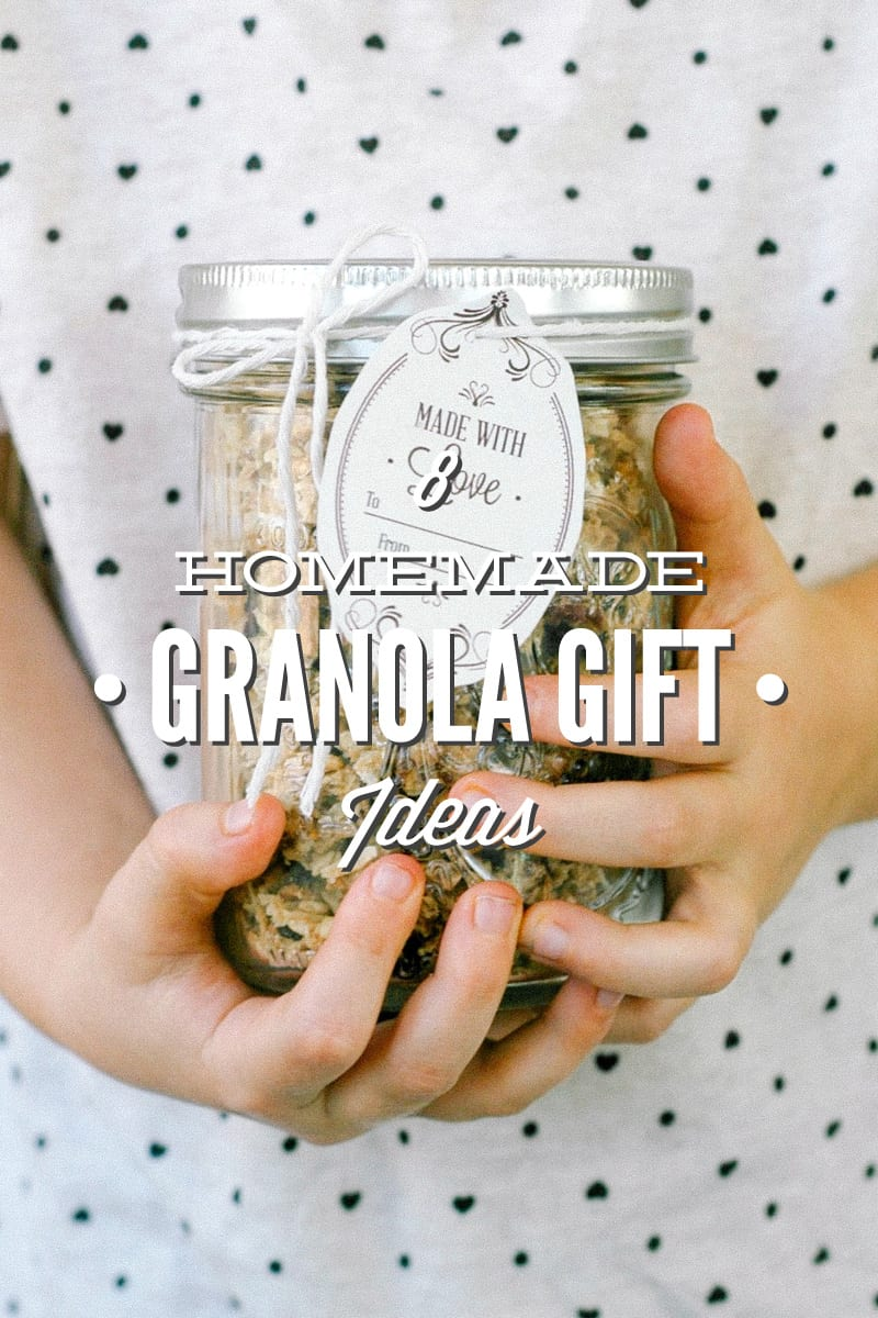 8 Homemade Granola Gift Ideas + Printable Gift Tags - Live Simply