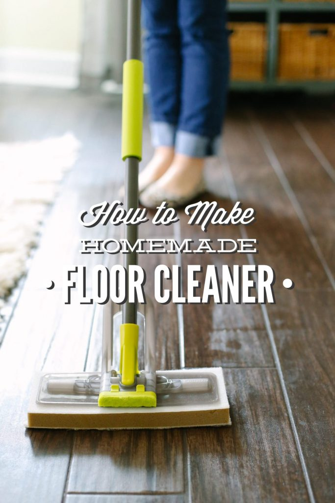 How to Make Homemade Floor Cleaner (Vinegar-Based) - Live Simply