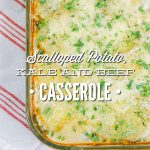 Scalloped Potato, Kale, and Beef Casserole