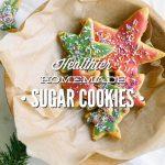 Healthier Homemade Sugar Cookies