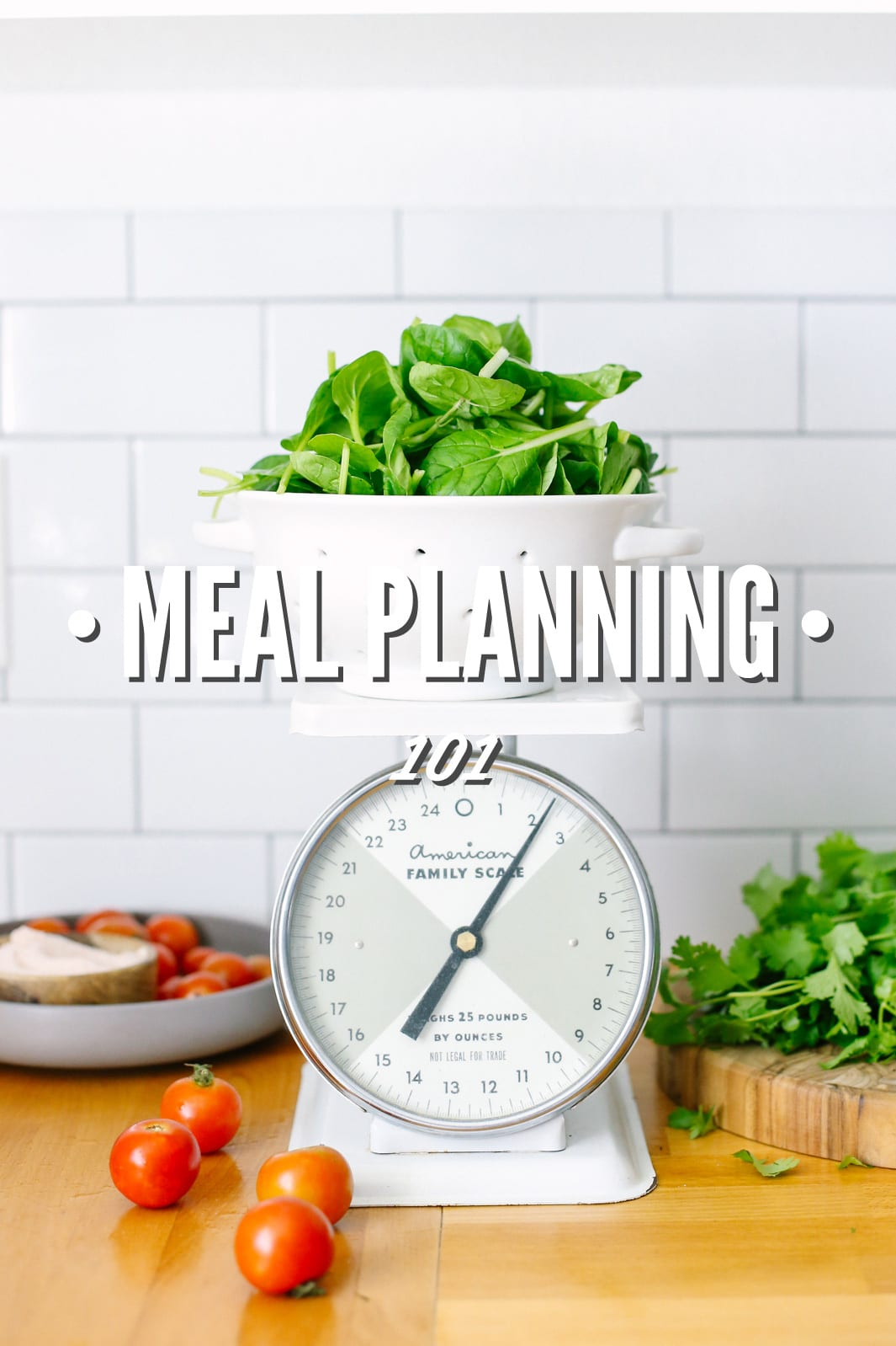 Meal Planning 101: How to plan for healthy, real food!
