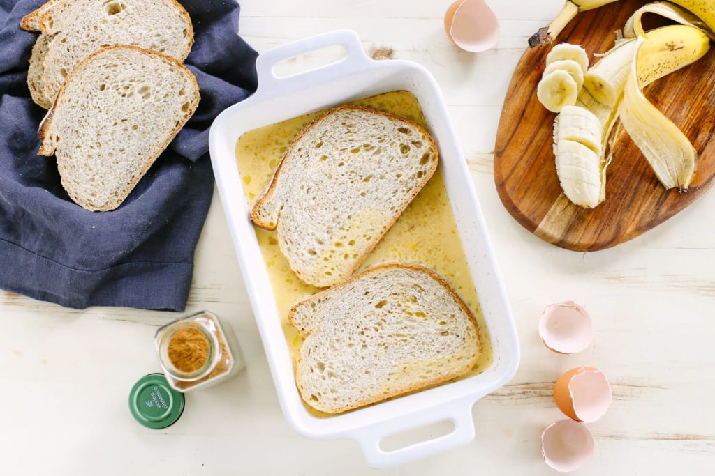 My family loves this french toast! So easy and inexpensive to make. No processed ingredients.