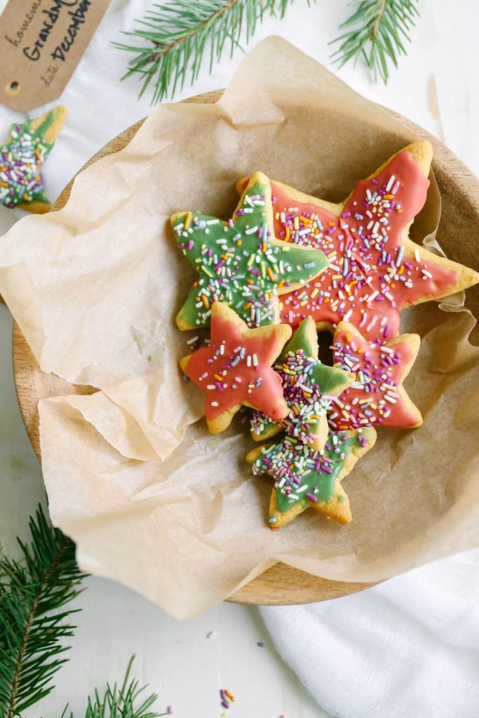Healthier Homemade Sugar Cookies. Keep the holiday traditions alive with a healthier real food sugar cookie that is easy to make with a few basic less-processed ingredients.