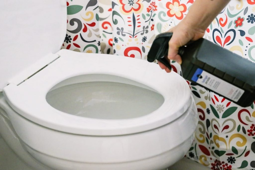 How to Clean and Disinfect a Toilet Bowl, Naturally. Love this! So simple and inexpensive using household ingredients. My toilets look and smell amazing.