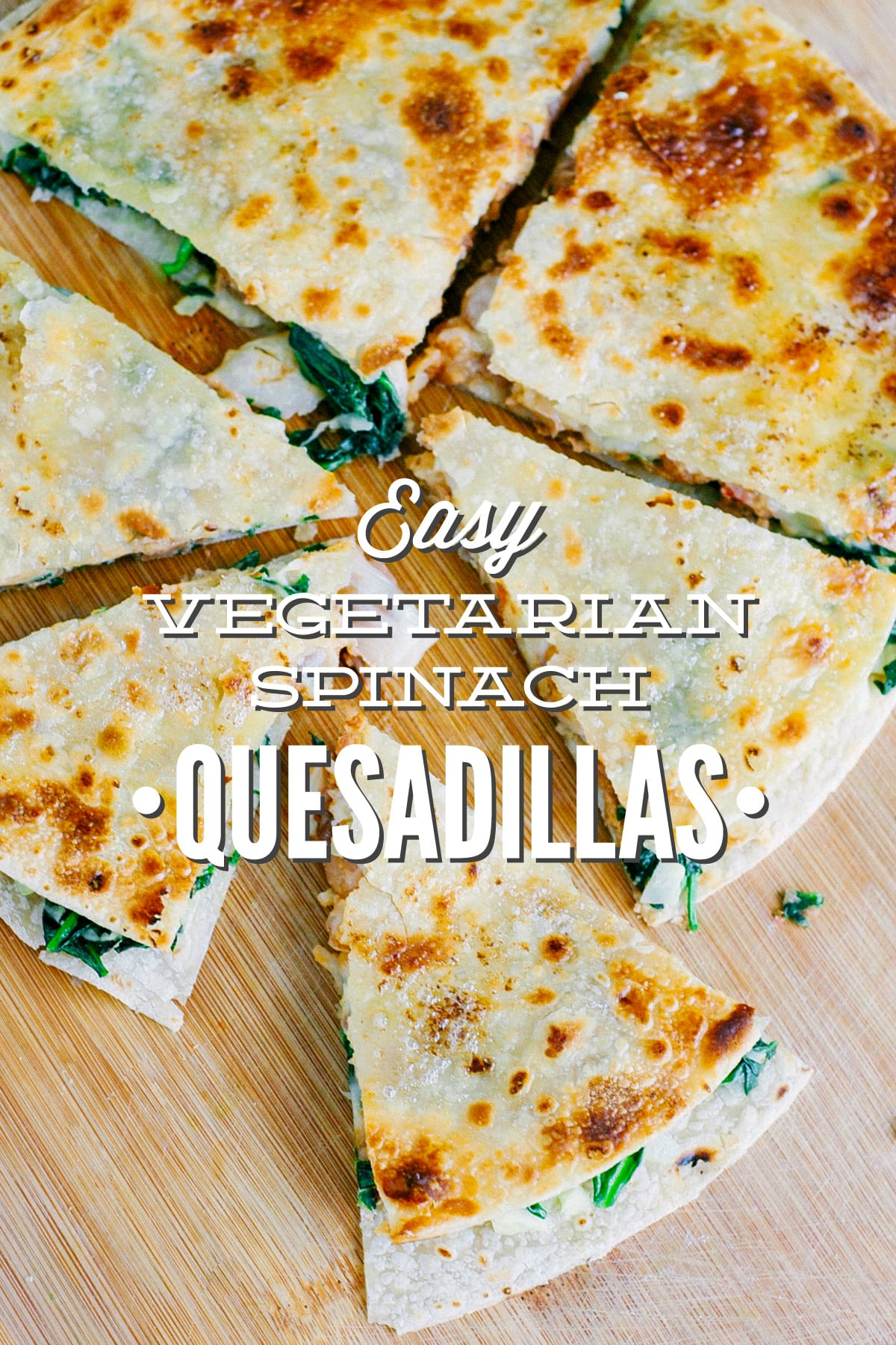 Easy vegetarian spinach quesadillas live simply forumfinder Images